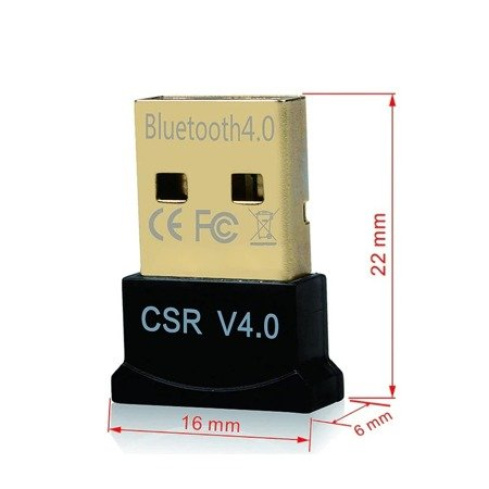 ADAPTER BLUETOOTH USB DONGLE 4.0