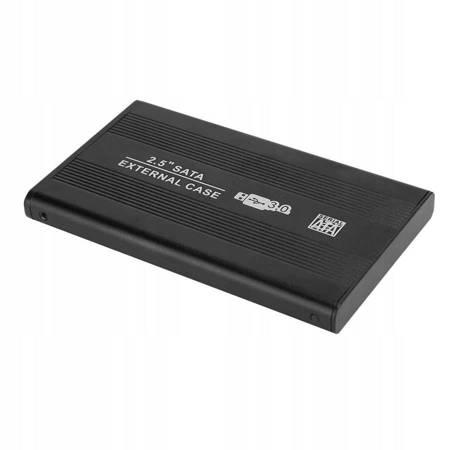 """ALUMINIOWA KIESZEŃ NA DYSK 2,5"""" USB 3.0"""