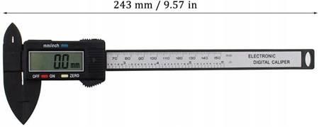 CYFROWA SUWMIARKA 150MM z włókna węglowego