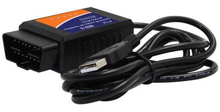 ELM 327 INTERFEJS OBD2 V1.5 USB